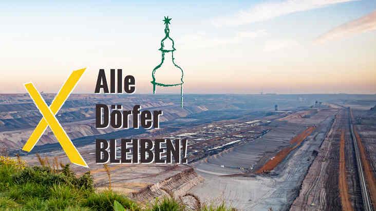 23.03.2019 Sternmarsch im Rheinland</p> <p>Der vorläufige Rodungsstopp im Hambacher Forst ist ein großer Erfolg! Diesen wollen wir nutzen, um weiter dafür zu kämpfen, dass Braunkohle im Boden bleibt. Um einen sich selbst beschleunigenden Klimawandel aufzuhalten, müssen alle Tagebaue gestoppt werden. Auch der Tagebau Garzweiler – dort sind zur Zeit noch fünf Dörfer von der Abbaggerung bedroht.</p> <p>Deswegen sagen wir: Kohle stoppen heißt alle Dörfer bleiben! Lasst uns zusammen zeigen, dass die Zeit für RWE abgelaufen ist. Kommt zum Sternmarsch und stellt euch – gemeinsam mit den Menschen aus den Dörfern – dem Tagebau Garzweiler entgegen. Denn Bergbau und Klimawandel zerstören Lebensgrundlagen – hier und weltweit!