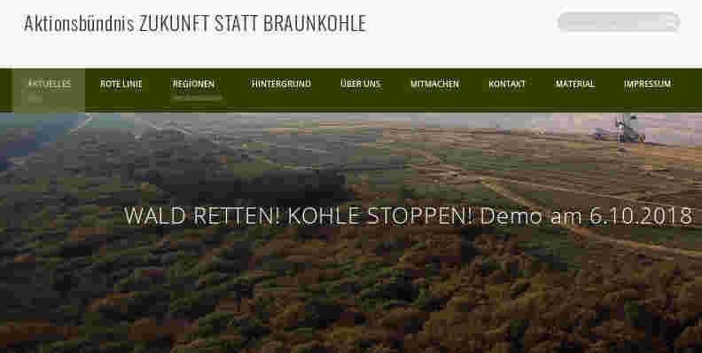 Wald retten, Kohle stoppen! – Demo am 6. Oktober</p> <p>Die angedrohte Rodung im Hambacher Wald durch den Energiekonzern RWE rückt näher. Deshalb ruft der BUND gemeinsam mit Campact, Greenpeace und den Naturfreunden Deutschlands zu einer Demonstration am Hambacher Wald am 6. Oktober auf...
