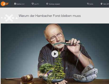 Harald Lesch erklärt: Warum der Hambacher Forst bleiben muss